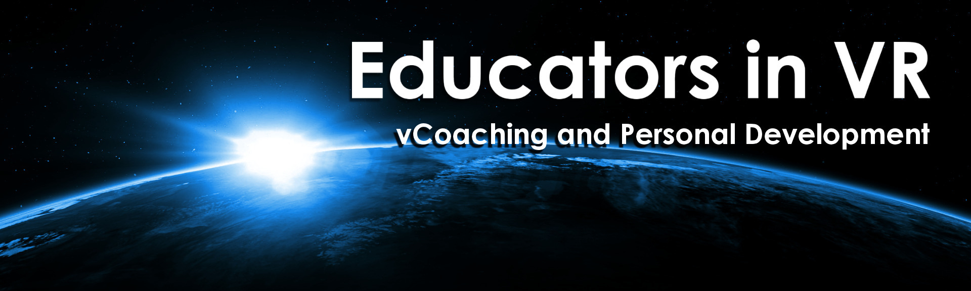 Educators in vr   vcoaching and personal development altspacevr banner 2021