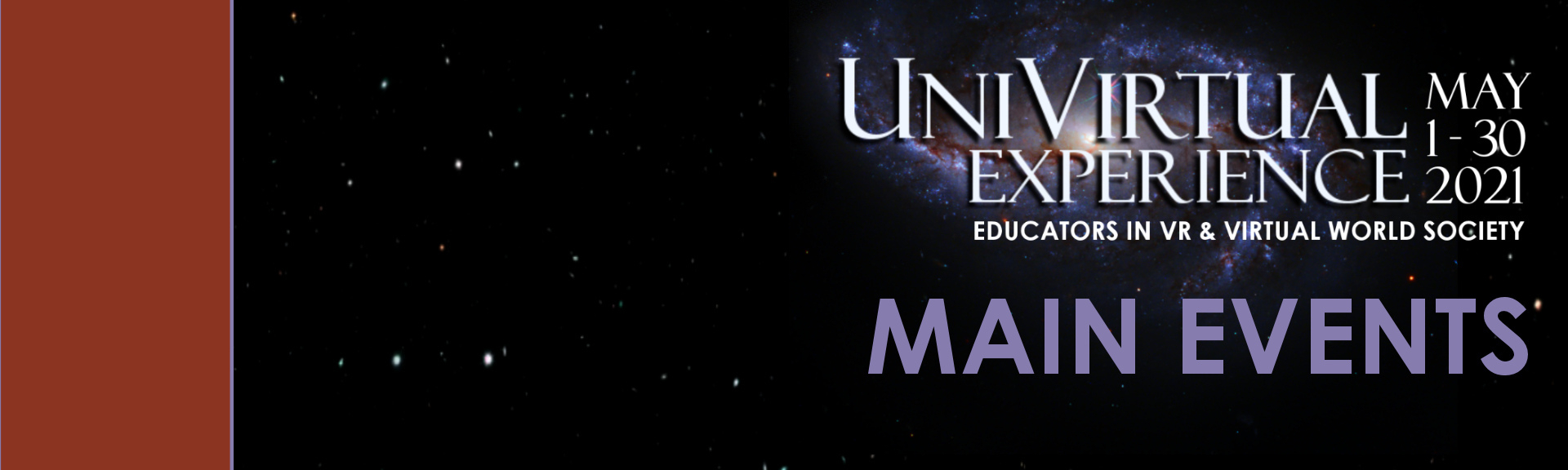 Univirtual experience asvr event banner main events