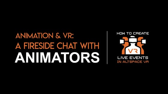 Tile animation   vr   fireside chat with animators altspacevr title