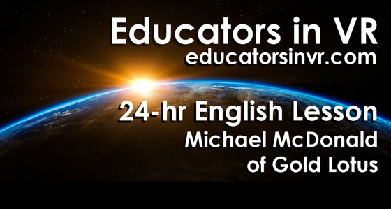 Tile educators in vr alltspace tile 24 hours english lesson
