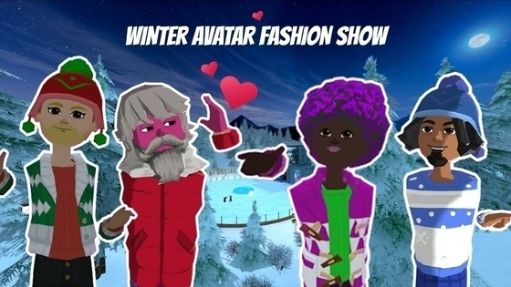 Tile avatar fashion show winter wonderland get social  1