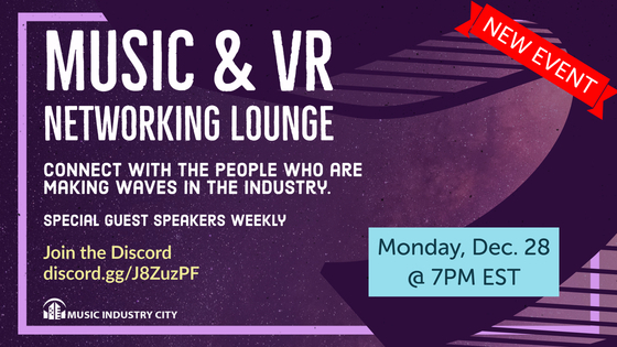 Tile music vr networking cover 7pm