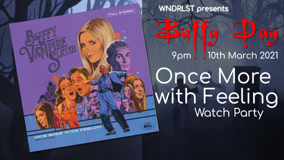 Tile buffy day watch party poster