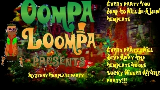 Tile oompa loompa mystery template party