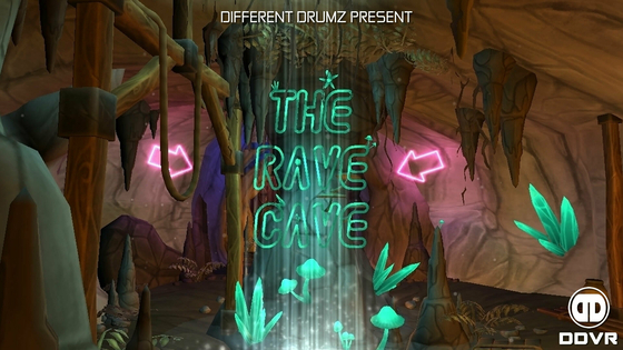 Tile the rave cave banner 2021