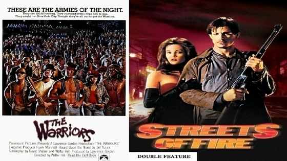 Tile the warriors streets of fire double movie