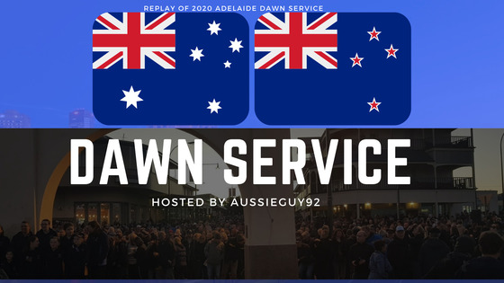 Tile replay of 2020 adelaide dawn service