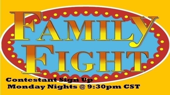 Tile family fight contestant sign up